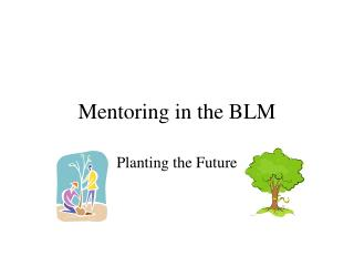 Mentoring in the BLM