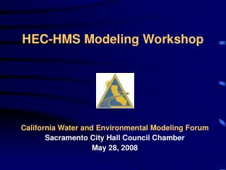 HEC-HMS Modeling Workshop