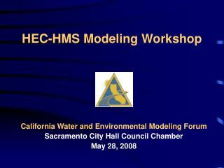HEC-HMS Modeling Workshop
