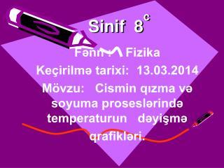 Sinif  8 c
