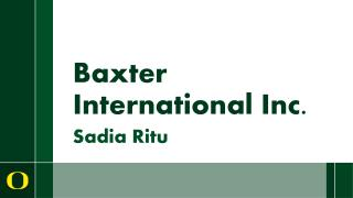 Baxter International Inc.