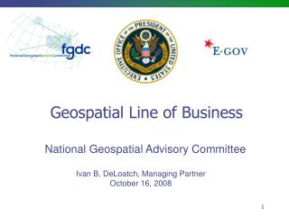 Geospatial Line of Business