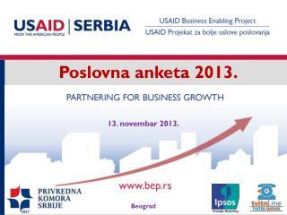 Poslovna anketa 2013.