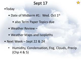 Sept 17