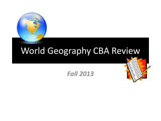 World Geography CBA Review