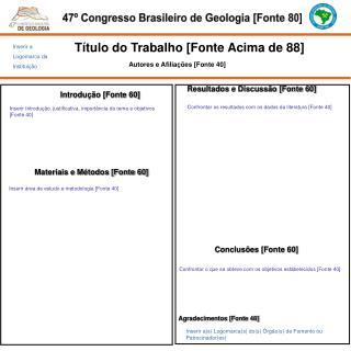 47º Congresso Brasileiro de  Geologia [Fonte 80]