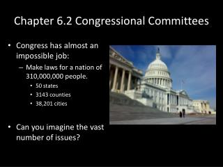 Chapter 6.2 Congressional Committees