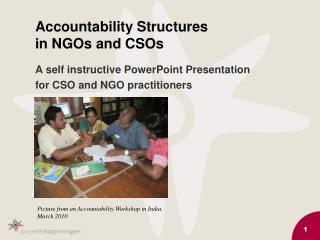 Accountability Structures  in NGOs and CSOs
