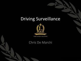 Driving Surveillance