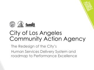 City of Los Angeles Community Action Agency