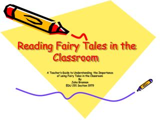 Reading Fairy Tales in the Classroom
