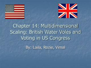 Chapter 14: Multidimensional Scaling: British Water Voles and Voting in US Congress