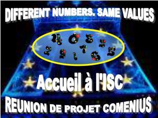 REUNION DE PROJET COMENIUS