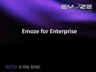 Emoze for Enterprise