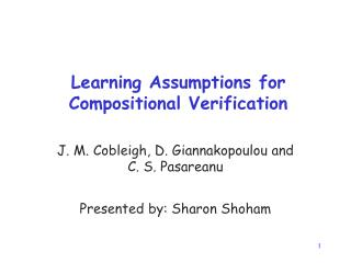 Learning Assumptions for Compositional Verification