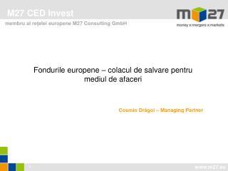 M27 CED Invest