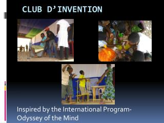 Club  d'invention