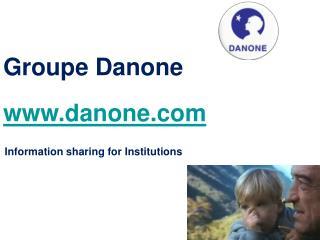 Groupe Danone danone
