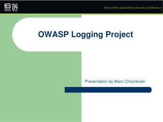 OWASP Logging Project
