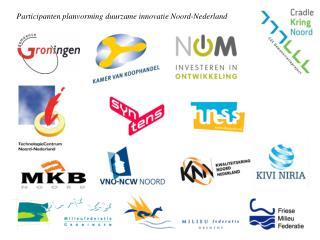 Participanten planvorming duurzame innovatie Noord-Nederland