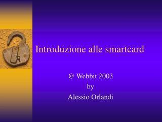 Introduzione alle smartcard