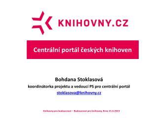 Centrální portál českých knihoven
