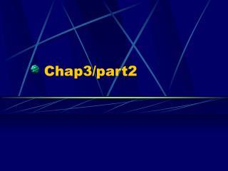 Chap3/part2