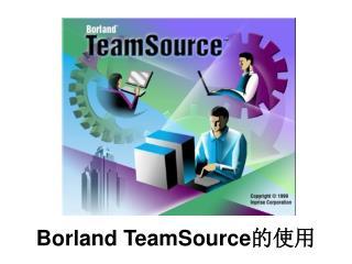 Borland TeamSource 的使用