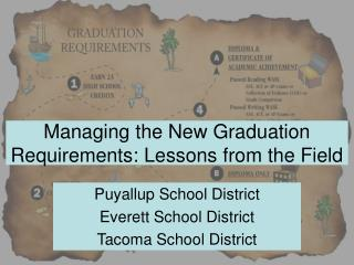 Managing the New Graduation Requirements: Lessons from the Field