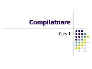 Compilatoare