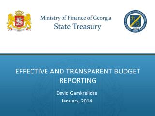 Effective and  Transparent Budget Reporting