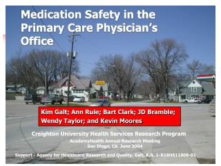 Medication Safety in the Primary Care Physician's Office