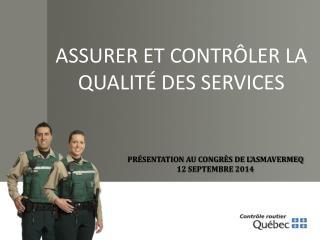 Présentation au congrès de l' asmavermeq 12 septembre 2014