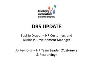 DBS UPDATE