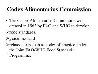Codex Alimentarius Commission