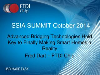 SSIA SUMMIT October 2014