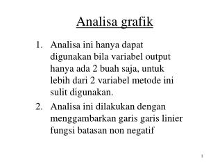 Analisa grafik