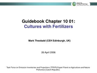 Guidebook Chapter 10 01: Cultures with Fertilizers