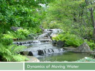 Dynamics of Moving Water
