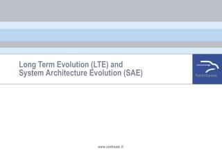 Long Term Evolution (LTE) and  System Architecture Evolution (SAE)