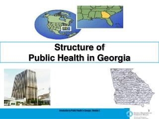 Structure of  Public Health in Georgia