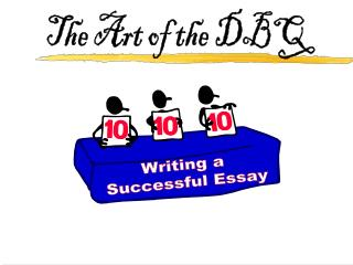The Art of the DBQ