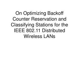 IEEE 802.11 (MAC)