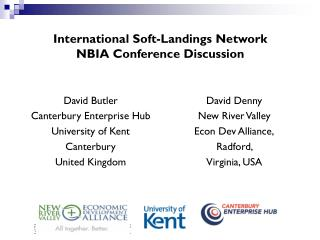 International Soft-Landings Network NBIA Conference Discussion