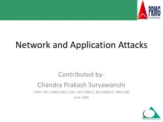 Network and Application Attacks