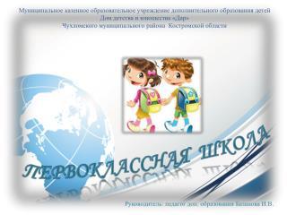 Муниципальное казенное образовательное учреждение дополнительного образования детей