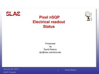 Pixel  nSQP Electrical readout Status