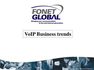 VoIP Business trends