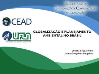 GLOBALIZAÇÃO E PLANEJAMENTO AMBIENTAL NO BRASIL