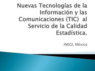 INEGI, México